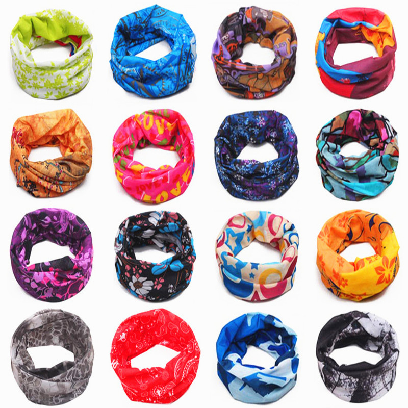 Magic Scarf Autumn Winter Children's Cotton Scarf Baby Kids Scarf Boys Girls Scarves Child O Ring Collar Kids Magic Neckerchief
