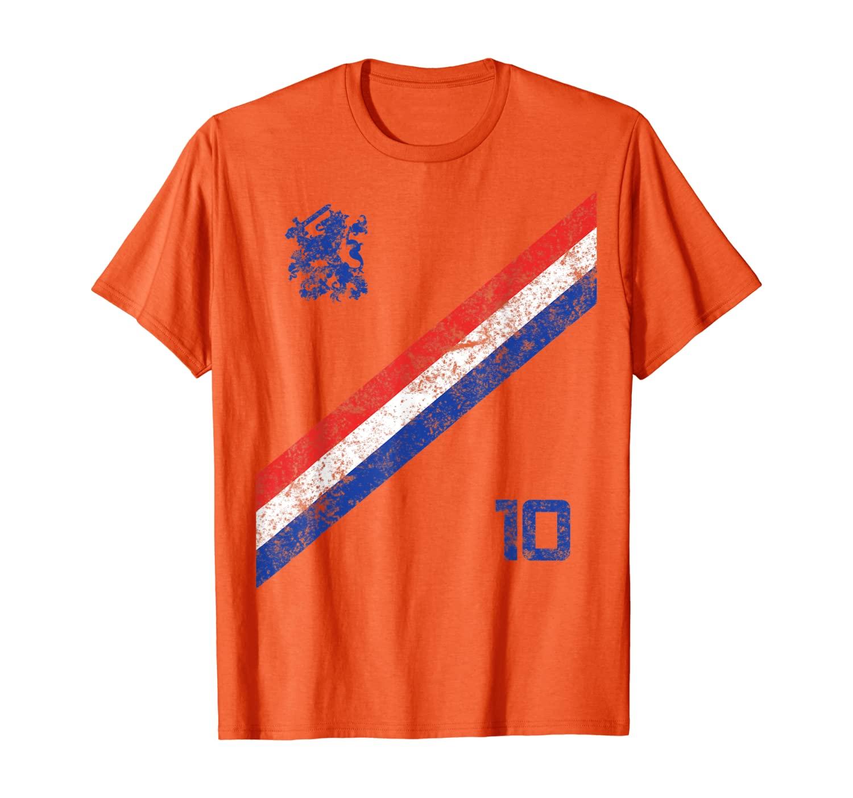 Vintage nederlands elftal voetbashirt