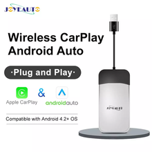 JoyeAuto-Carplay inalámbrico para coche, sistema Android Auto 4,2 o superior, Dongle USB para Android iOS