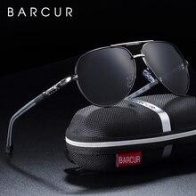 BARCUR, мужские солнцезащитные очки, поляризационные, UV400, защита для вождения, солнцезащитные очки, женские, мужские, Oculos de sol