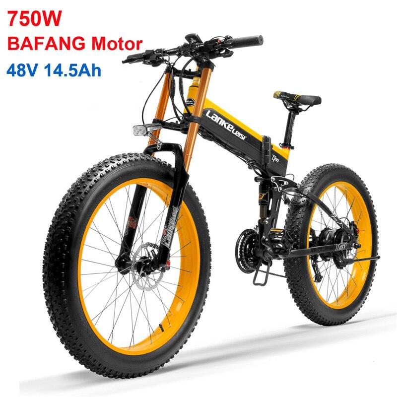 Vélo de neige électrique 26 ''vélo électrique amélioré, moteur de haute qualité Bafang, batterie au Lithium supérieure, système d'exploitation optimisé