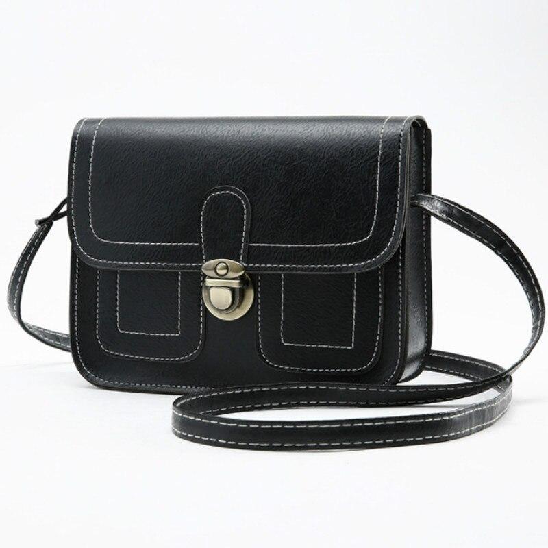 New Crossbody Bags For Women 2019 Leather Fashion Hasp Handbag Designer Small Shoulder Bag Flap Ladies Bolsa Feminina