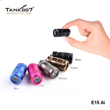 TANK007 E15 Ai Mini Keychain 365nm LED UV Light Head Revolving Switch Small Ultraviolet Tor