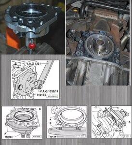 T10134 коленчатый вал заднее уплотнение установщик инструмент для VW / AUDI