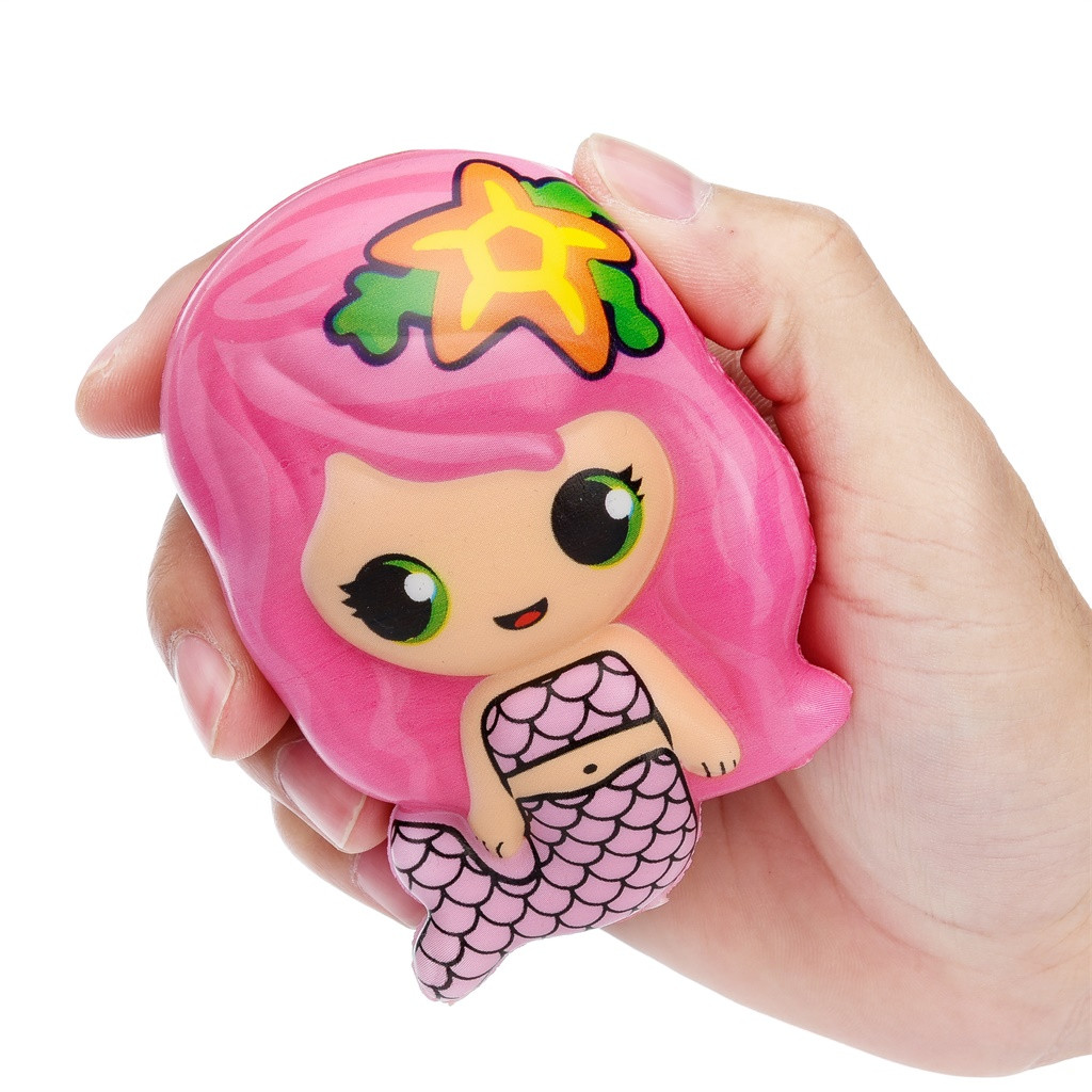 Toy Relief-Toys Squishy-Toy Mermaid Gifts Squeeze Birthday-Gift Kawaii Cream Scented-Stress img4