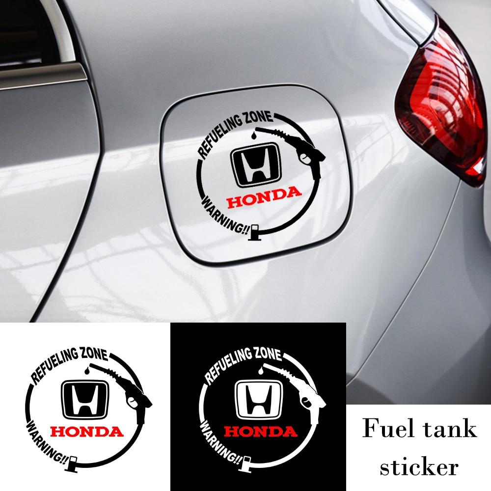 Автомобильный стикер крышка топливного бака виниловые модная декоративная переводная Наклейка для Honda Mugen Мощность Civic Accord CRV вариабельност...