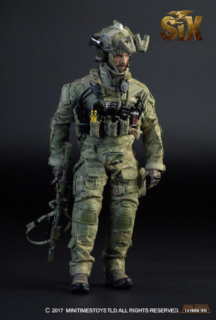 Мини раз игрушки MT-M009 ВМС США SEAL Team Шесть DEVGRU Ричард