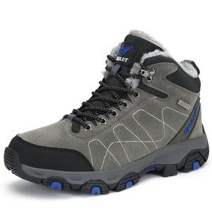 Image 3 - Sonbahar kış erkek yürüyüş botları kadın ayakkabı dağcılık ayakkabıları taktik avcılık ayakkabı yeni klasik açık spor adam