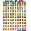 Series 1 to Series 4  001 to 400  Animal Crossing Card Amiibo locks nfc Card Work for NS Games  001 to 400  free to choose discount