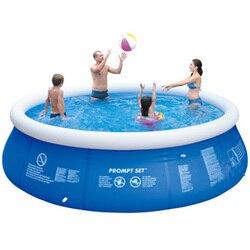 Piscina grande de verano con Clip de red gruesa, piscina, piscina inflable para niños y adultos, bañera familiar, bañera de exterior para niños