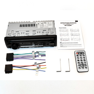 Image 4 - HEVXM 3010 Color Light MP3 Player Car Stereo Audio In dash Single 1 Din FM Receiver Aux Input SD MP3 MMC WMA Radio Player