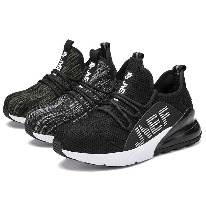 FANAN-chaussures de travail pour hommes, baskets de protection avec embout en acier, Anti-fracas, légères et aérées et Anti-perforation, livraison gratuite