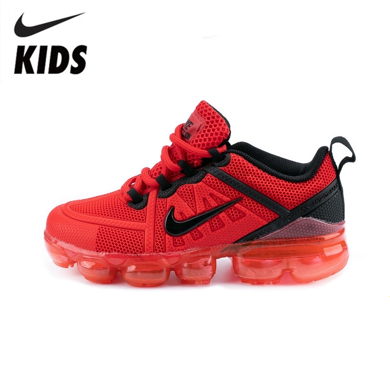 Nike Air VaporMax Flynit Kids Shoes Original New Arrival Children Comfortable Running Shoes Outdoor Sports Sneakers #849558