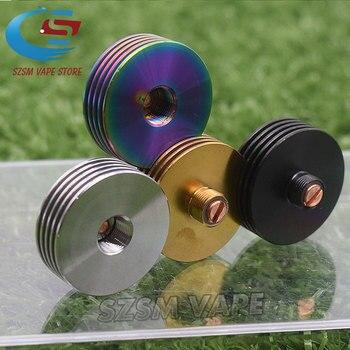 5pcs Heat Sink 24 MM Metal round Colorful 510 Heat Dissipation Atomizer Radiator for 510 24mm RDA Tank vape Mod