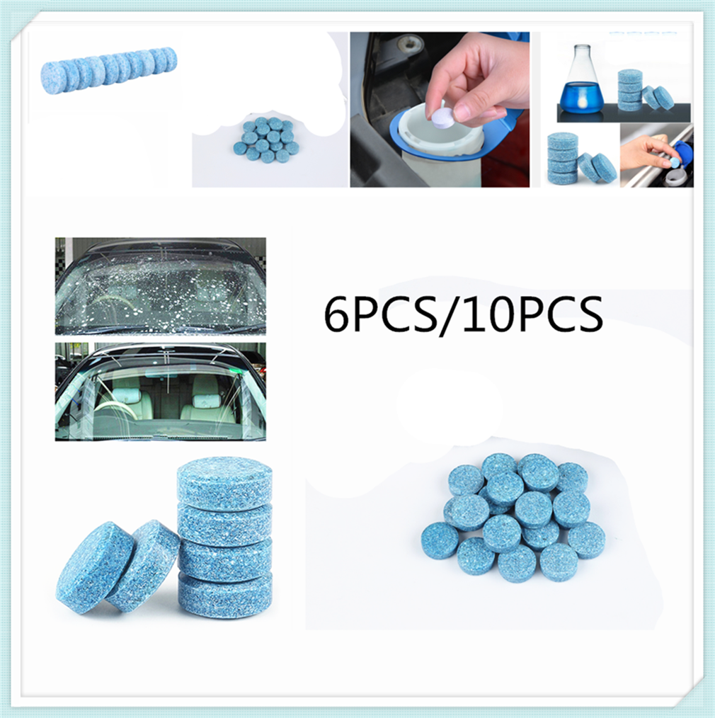 Car Windshield Strong Cleaning Concentrate Effervescent Tablets Home For Hyundai Accent 1994 2000 I30 2007 2012