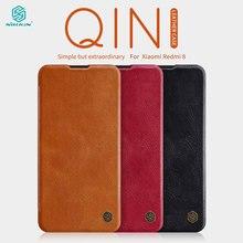 Caes Voor Xiaomi Redmi 8A 8 Redmi8 Global Versie Nillkin Qin Serie Pu Leather Flip Cover Redmi 8 Case