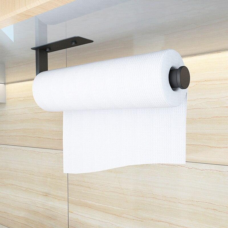Нержавеющая сталь Настенный Туалет Рулон Бумага Держатель Ванная Кухня Полотенце Вешалка Вешалка
