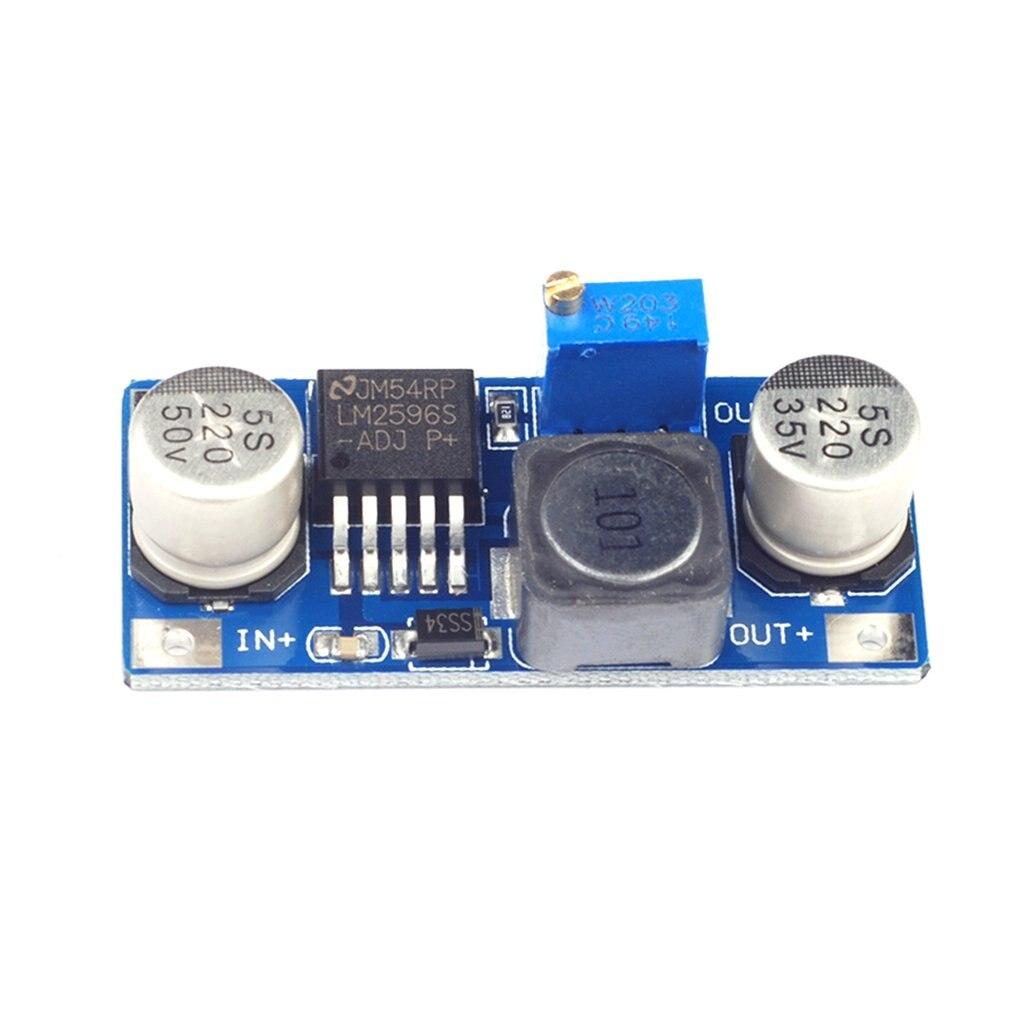 1PCS LM2596S-ADJ DC-DC Ultra Small Adjustable Buck Module Red Board