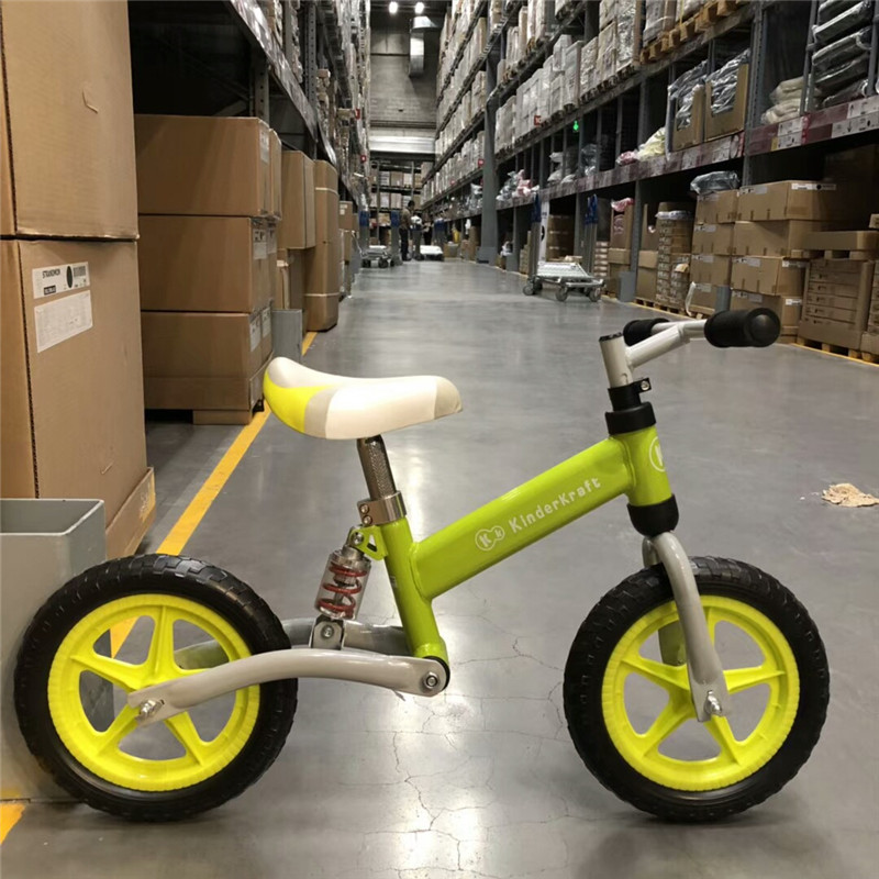 H10ddd4ebcf004ab89e2a8b40babc995d6 Brand New Balance Bike Bicycle For Kids 3~6 Ages Child Toddler Complete Cycling Bike Learn to Ride Bicicleta No Pedal Push Bike