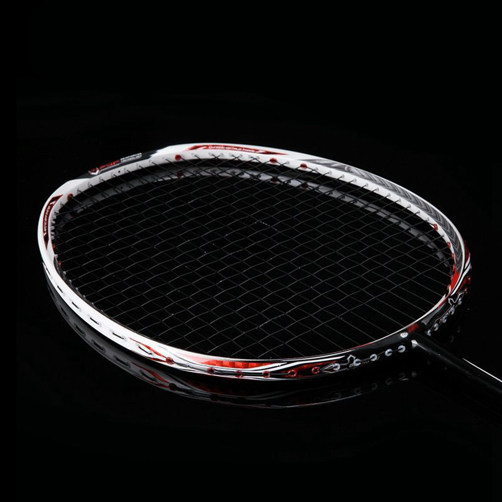 Ultralight 7U 67g Professional Full Carbon Badminton Racket N90III Strung Badminton Racquet 30 LBS With Grips And Bag