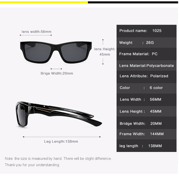 Outdoor Sports Polarized Sunglasses 56mm Classic Women Men Fishing Glasses Rayed Sun Glasses Running Goggles UV400 2
