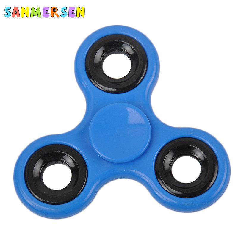 Fidget Spinner Gyro-Toys Finger-Top Anti-Stress Triangle Adult Kid Spiral Games Long-Time img2