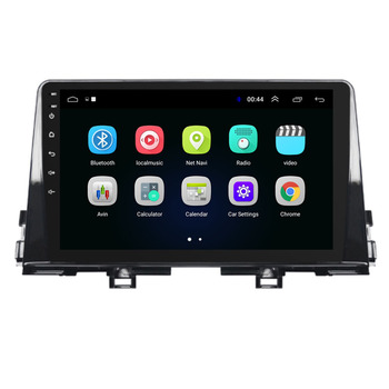 10.1 octa core 1280*720 QLED screen Android 10 Car GPS radio Navigation for Kia PICANTO Morning 2016-2019 image