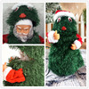 30cm Christmas Opening Christmas Tree Electric Santa Claus Gift 360 Rotating Dancing and Singing Christmas Children's Toy