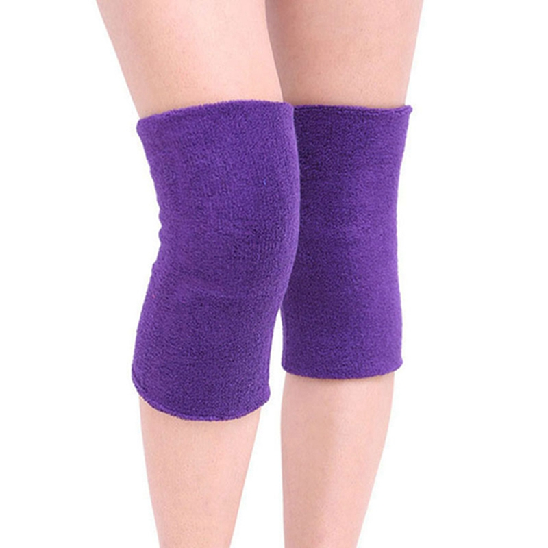 Unisex Breathable Warm Non-slip Knee Sleeve  Leg Sleeve Kneelet Soft Knee Pad Warm Protection  Feme