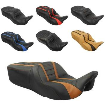 Motorcycle Driver Passenger Seat For Harley Touring Electra Road King Street Glide Road Glide Ultra Limited FLHR 2009-2020 2019 motorcycle driver passenger seat for harley touring electra road king street glide road glide ultra limited flhr 2009 2020