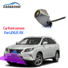 CCD HD Car Front View Parking LOGO Camera Night Vision Waterproof Positive For Lexus RX RX270 RX350 RX450h AL10 2010~2015