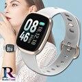RollsTimi женские умные часы кровяное давление влагостойкие умные часы с ремешком фитнес-трекер спортивные умные часы для мужчин Android IOS