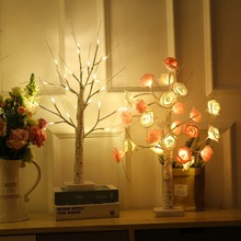 LED bonsai tree light decoration lamp family party wedding interior decoration lamp, Christmas holiday decoration 30 X 20 X 20cm