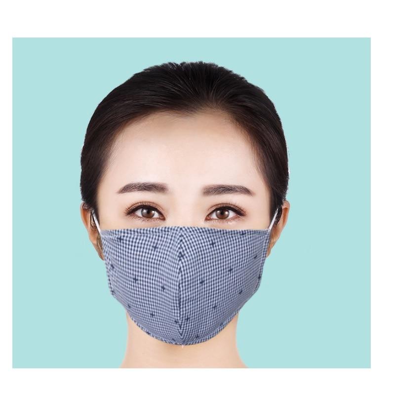 2sets/lot Women Men Reusable Mask Mondkapje Virus Anti-dust Fabric Face Mask Flu Mascherine Mouth Mask