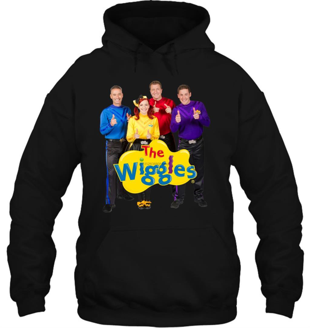 The Wiggles Logo T-Shirt All Sizes Kids TV Programme Emma Simon Anthony Lachlan