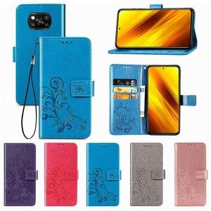 Image 2 - For Cover Xiaomi Poco X3 Pro Case Flip Magnetic Leather Phone Bag Case For Poco X3 Pro Cover For Redmi 9A 9C 9 Poco X3 Pro Case