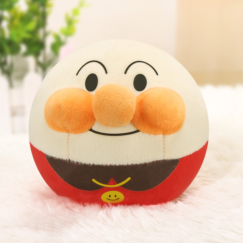 USB Rechargeable Version Online Celebrity Bread Superman Bouncing Ball Tumbler Music Bounce Plush Doll Beng Qiu