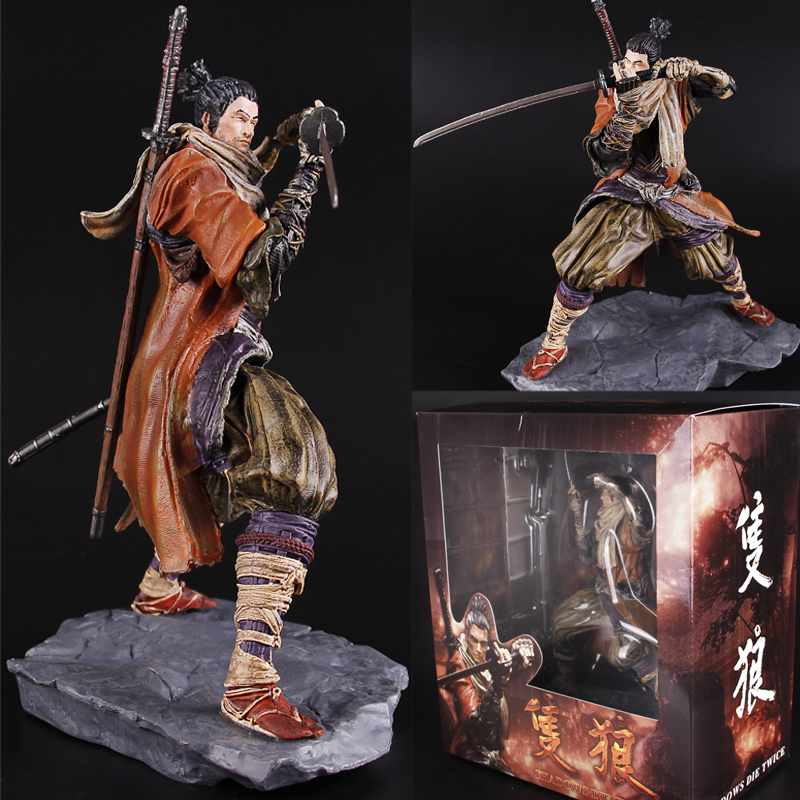 20CM New Game SEKIRO Shadows Die Twice PVC Action Figure Statue Collectible Model Toy