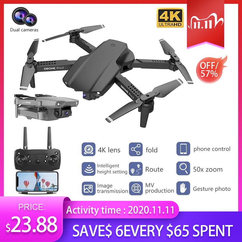 E99 RC Drone Precision Fixed Point 4K HD Camera Professional Aerial Photography Helicopter Foldable Quadcopter|RC Quadcopter| - AliExpress