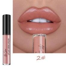 À prova dwaterproof água vívida lipgloss brilho shimmer batom longa duração hidratante colorido sexy feminino úmido brilho labial tslm1