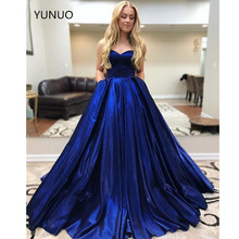 YUNUO Elegant Sweetheart Ball Gown Prom Dresses Corset Lace