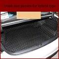 Lsrtw2017 для hyundai sonata Кожаный Автомобильный Коврик для багажника 2015 2016 2017 2018 2019 2020 аксессуары для ковров интерьера
