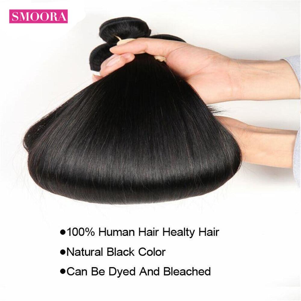 Smoora   Straight Hair  Bundles  Bundles 28 30 32 34 36 38 40 inch  Cheap Wholeslae 4
