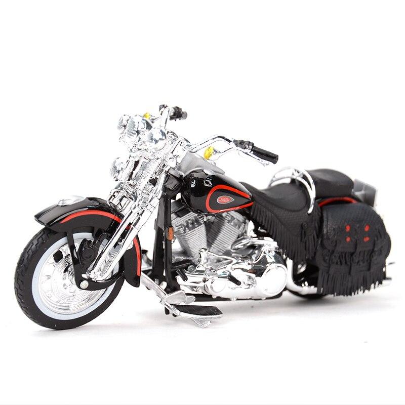 Maisto 1:18 1998 FLSTS Heritage Springer Diecast Alloy Motorcycle Model Toy