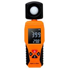 Цифровой Люксметр, светильник, люксометр, люминометр, фотометр Lux/FC, тестер температуры, спектрометр, спектрофотометр