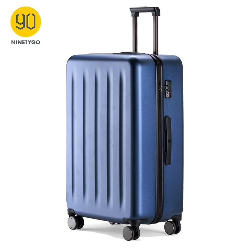 NINETYGO 90FUN PC Suitcase 20 Inch Colorful Rolling Luggage Lightweight Carry On Spinner Wheel Travel TSA Lock Women Men