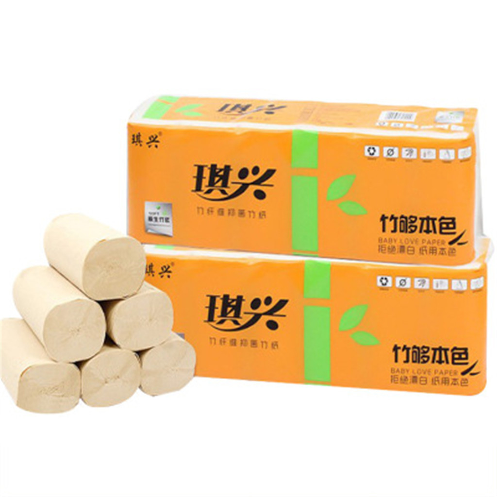 12PCS Roll Toilet Paper Hollow Replacement Roll Paper Print Interesting Toilet Paper Table Kitchen Pape Multi-Fold Hygiene Paper