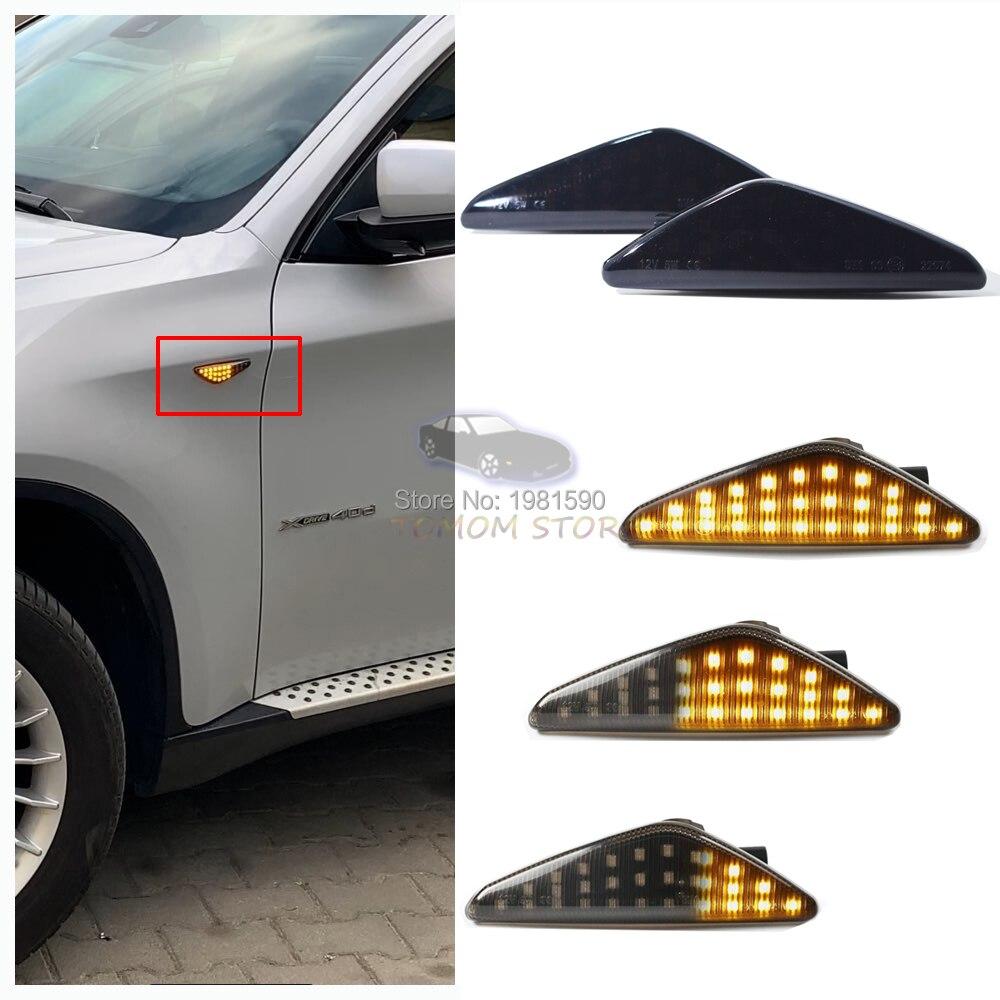 X3 F25 X5 E70 X6 E71 LEFT SIDE MARKER BLINKER REPEATER INDICATOR LAMP LED ;;;
