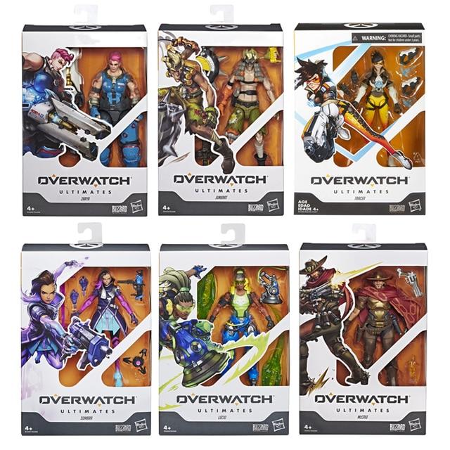 Hasbro Overwatch Ultimates Series McCREE Lucio Tracer Sombra 6 1