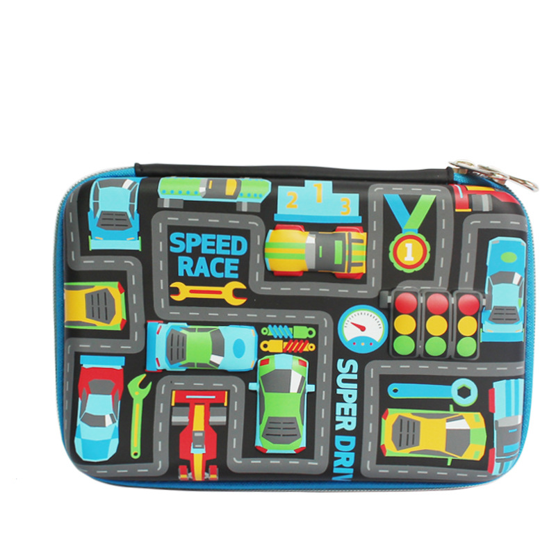 Amazon Young STUDENT'S Multi-functional Pencil Case Kindergarten Gift Creative Learning Supplies School Stationery Box